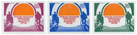 Central African Republic - YT 599-601 - Mint