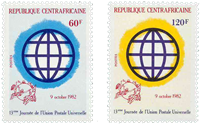 Central African Republic - YT 534-35 - Mint