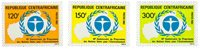 République Centrafricaine - YT 541-43 - Neuf