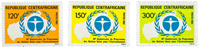 Central African Republic - YT 541-43 - Mint