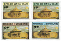 Central African Republic - YT 544-47 - Mint