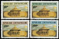 République Centrafricaine - YT 544-47 - Neuf