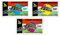 Central African Republic - YT 454-56 - Mint