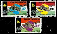République Centrafricaine - YT 454-56 - Neuf