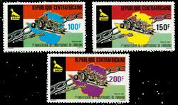Centralafrika - YT 454-56 - Postfrisk