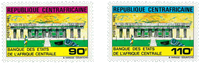 Central African Republic - YT 468-69 - Mint