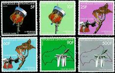 Centralafrika - YT 470-75 - Postfrisk