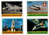 Central African Republic - YT 446-49 - Mint