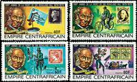 Centralafrika - YT 373-76 - Postfrisk