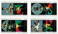 Central African Republic - YT 383-86 - Mint