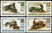 République Centrafricaine - YT 400-403 - Neuf