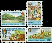 Centralafrika - YT 342-45 - Postfrisk