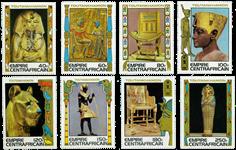 Centralafrika - YT 354-61 - Postfrisk