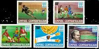 Centralafrika - YT 315-19 - Postfrisk