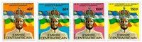 République Centrafricaine - YT 324-27 - Neuf