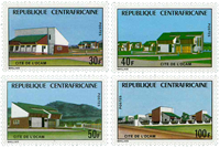 Central Africa - YT 228-31 - Mint