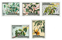 Central Africa - YT 191-95 - Mint