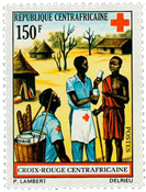 Central Africa - YT 166 - Mint