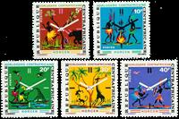 Centralafrika - YT 177-81 - Postfrisk