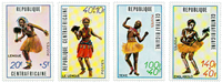 Central Africa - YT 139-42 - Mint