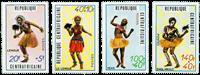 République Centrafricaine - YT 139-42 - Neuf