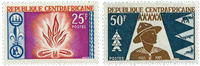 Central African Republic - YT 58-59 - Mint