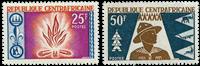 République Centre Afrique - YT 58-59 - Neuf