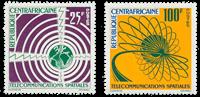 République Centre Afrique - YT 27-28 - Neuf