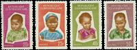 République Centre Afrique - YT 37-40 - Neuf