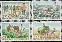 République Centre Afrique - YT 43-46 - Neuf