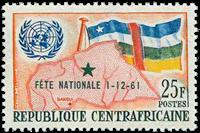 Centralafrika - YT 17 - Postfrisk