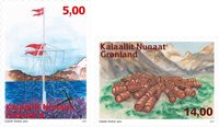 Groenland - Stations lointaines - Série neuve 2v