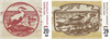 Grønland - Gamle pengesedler - Postfrisk sæt 2v