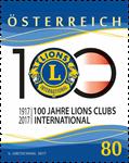 Østrig - Lions Club - Postfrisk frimærke