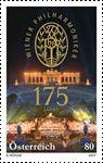 Østrig - 175-året for Wiener Philharmonikerne - Postfrisk frimærke