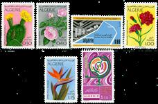 Algeriet - Årgang 1973 postfrisk, ukomplet
