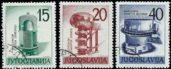 Jugoslavien - AFA 915-17 stemplet