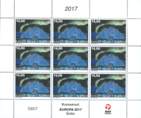 Greenland - Castles - Mint sheetlet 144 DKK