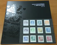 Danemark - Coll. ann. timbres d'usage courant 2011  obl.