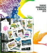 Danemark - Coll. ann. 2012 obl.
