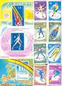Roumanie - 4 blocs-feuillets et 1 série - Neuf