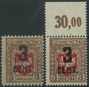 Lituanie - 1922-23