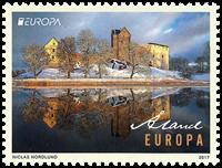 Åland - Europa 2017 - Château Kastelholm - Timbre neuf