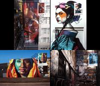 Australien - Gadekunst - Flot sæt maximumskort