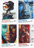 Australien - Gadekunst - Postfrisk sæt 4v