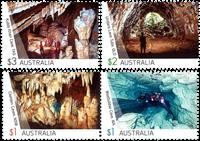 Australia - Caves - Mint set 4v
