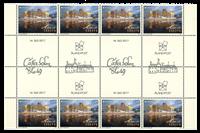 Åland - Europa 2017 - Château Kastelholm - Bande neuve gutter 8v