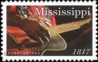 USA - Staten Mississippi - Postfrisk frimærke