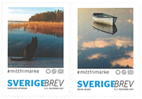Sweden - My stamp 2017 - Mint self-adh. set from coil