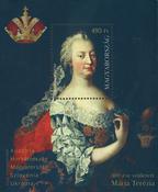 Ungarn - Maria Terézia - Postfrisk miniark
